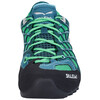 Salewa Wildfire S GTX Schoenen Dames groen/blauw